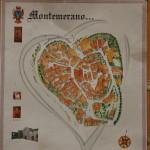 Montemerano borgo storico mappa monumenti