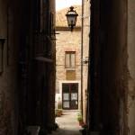 Montemerano vicolo del centro storico