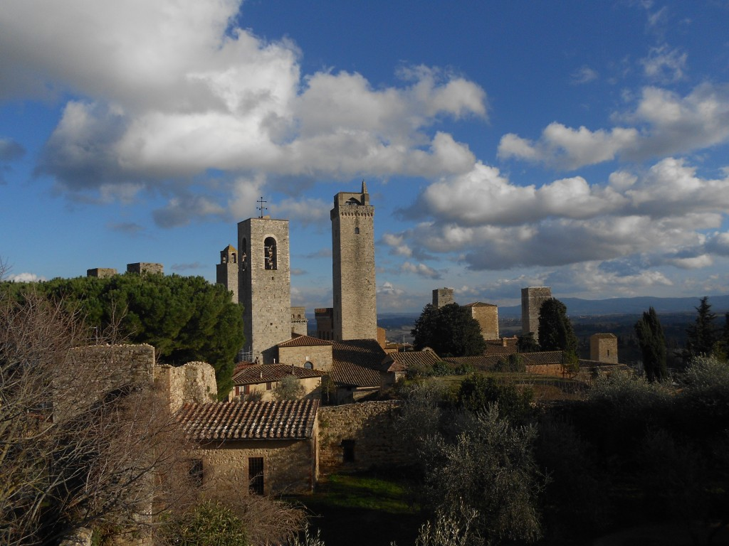foto di San Gimignano le torri
