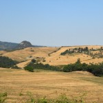 Valdicecina panorama calanchi