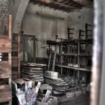 laboratorio artigiano di ceramica a Montelupo