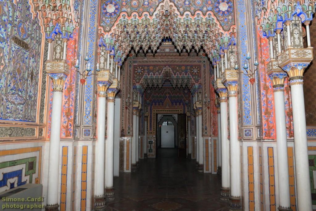 Castello di Sammezzano corridoio orientale