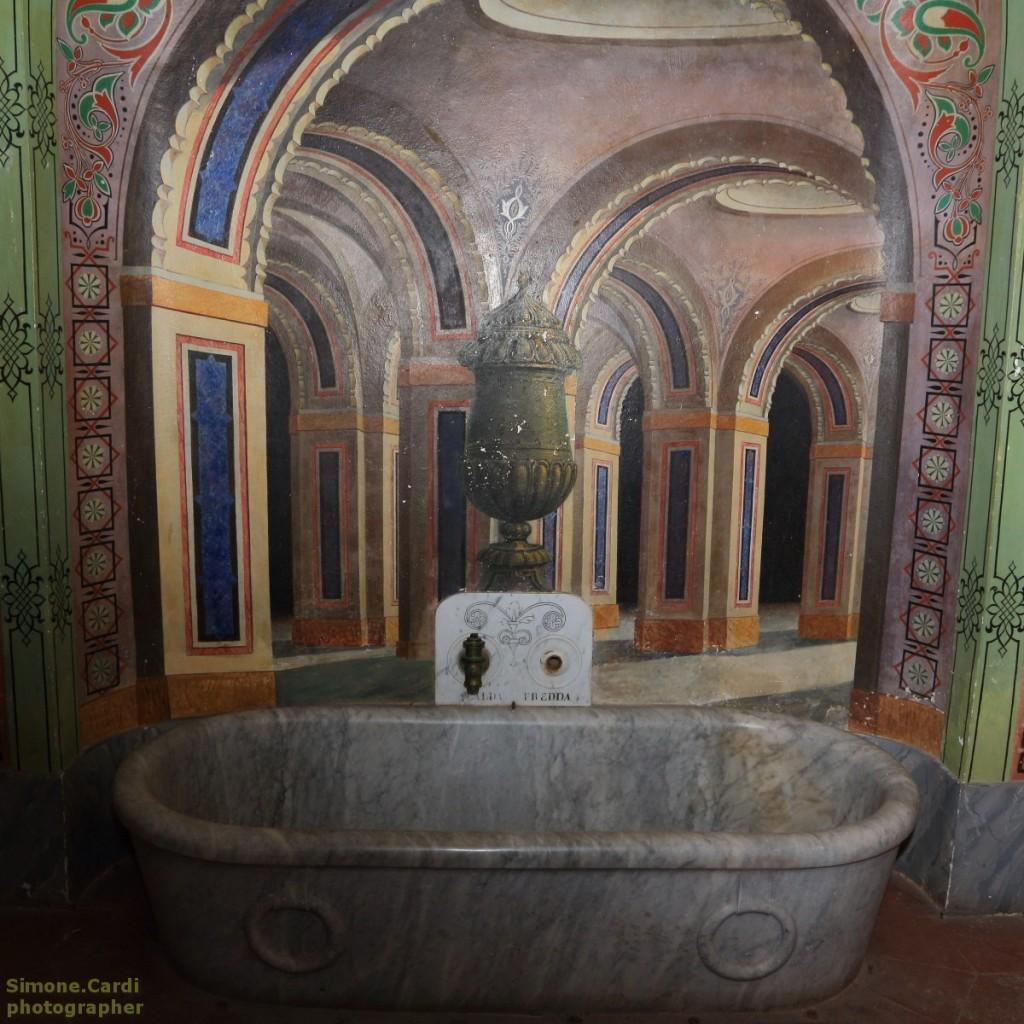 Castello di Sammezzano bagno del Ferdinando Panciatichi Ximenes d'Aragona
