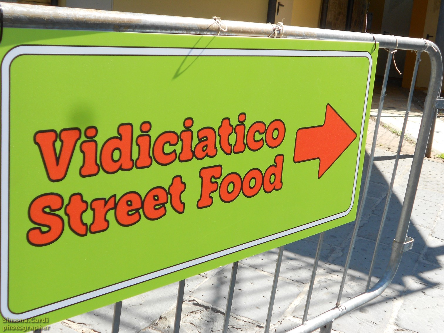 Vidiciatico Street Food cartello
