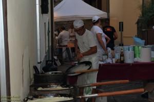 Vidiciatico Street Food borlenghi di Modena preparazione