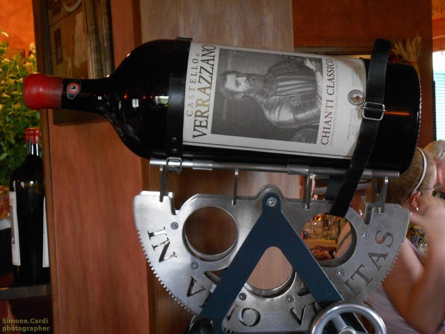 Castello di Verrazzano in vino veritas