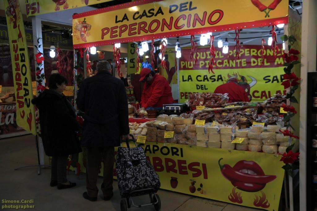 Sapeur Forlì Stand peperoncino di Calabria