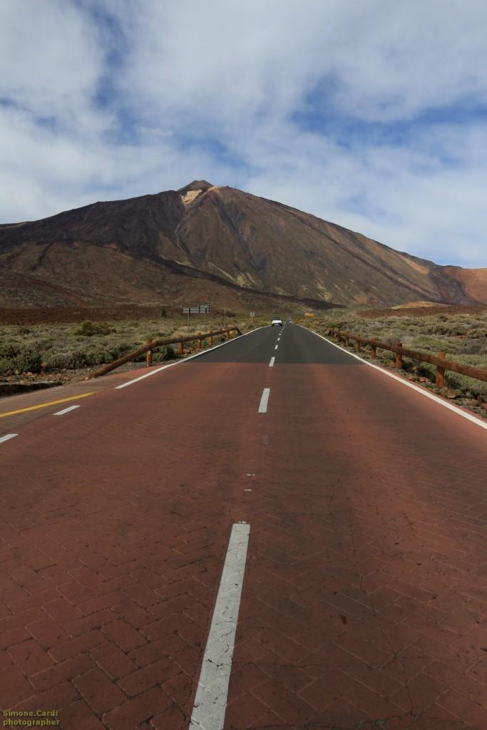 Teide - panorama del vulcano (Tenerife, Spagnaa)