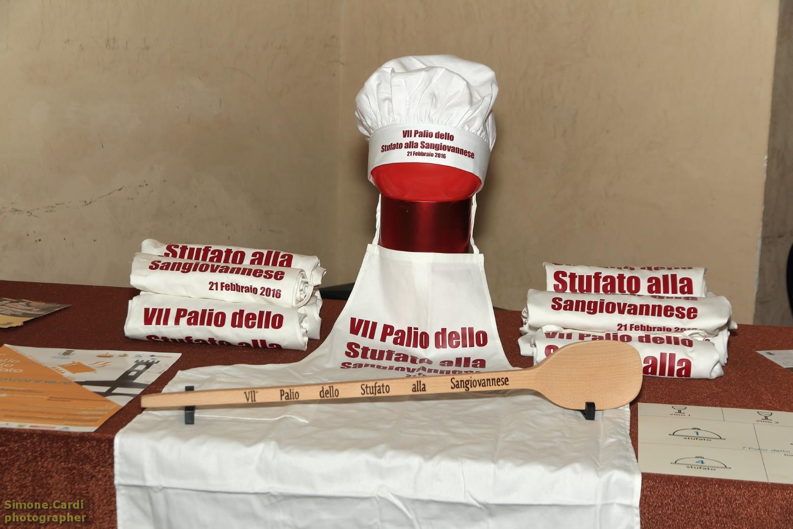 Palio dello Stufato alla Sangiovannese 2016 il mestolo del vincitore