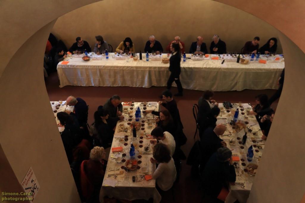 Palio dello Stufato alla Sangiovannese tavolo giuria