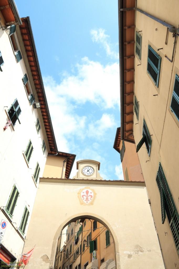 Castelfiorentino porta di ingresso Sud