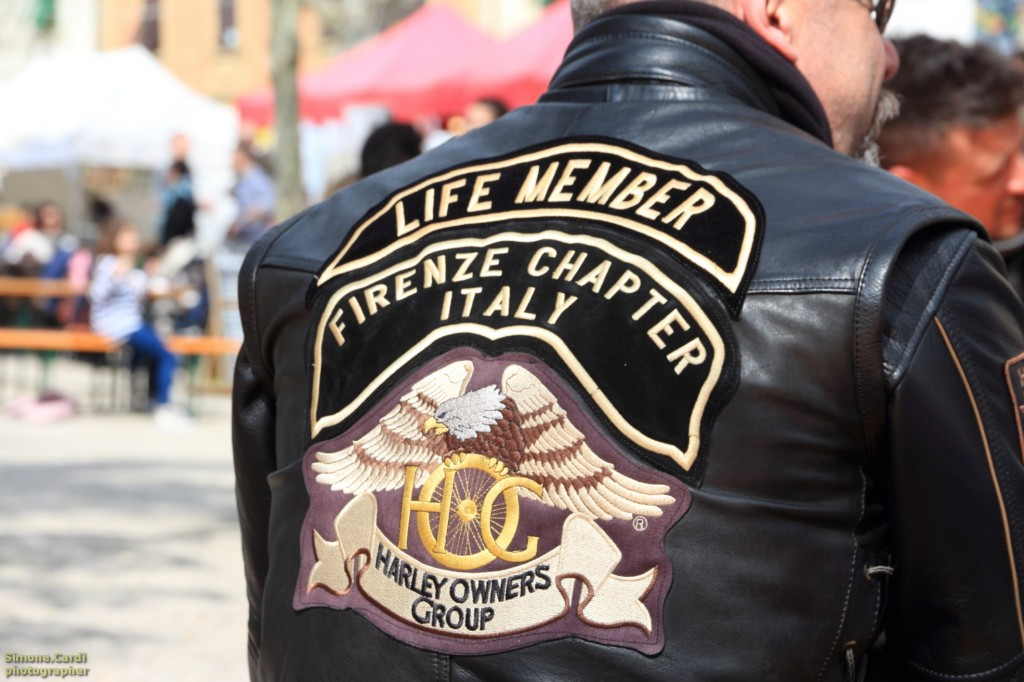 Firenze Chapter Italy Harley Club Firenze giubbotto
