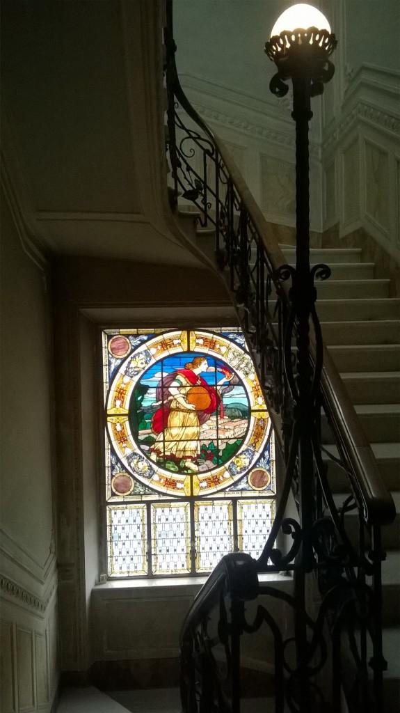 Villa Masini vetrata Liberty