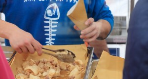 Castelfiorentino Streetfood Village pesce fritto