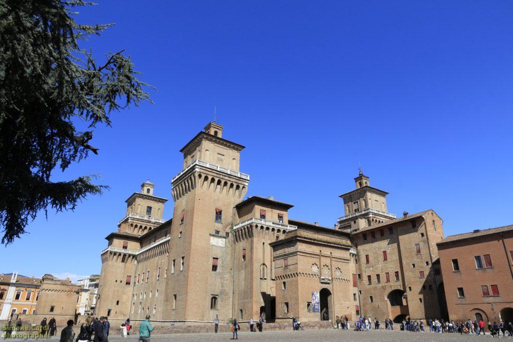 Castello Sforzesco Ferrara veduta