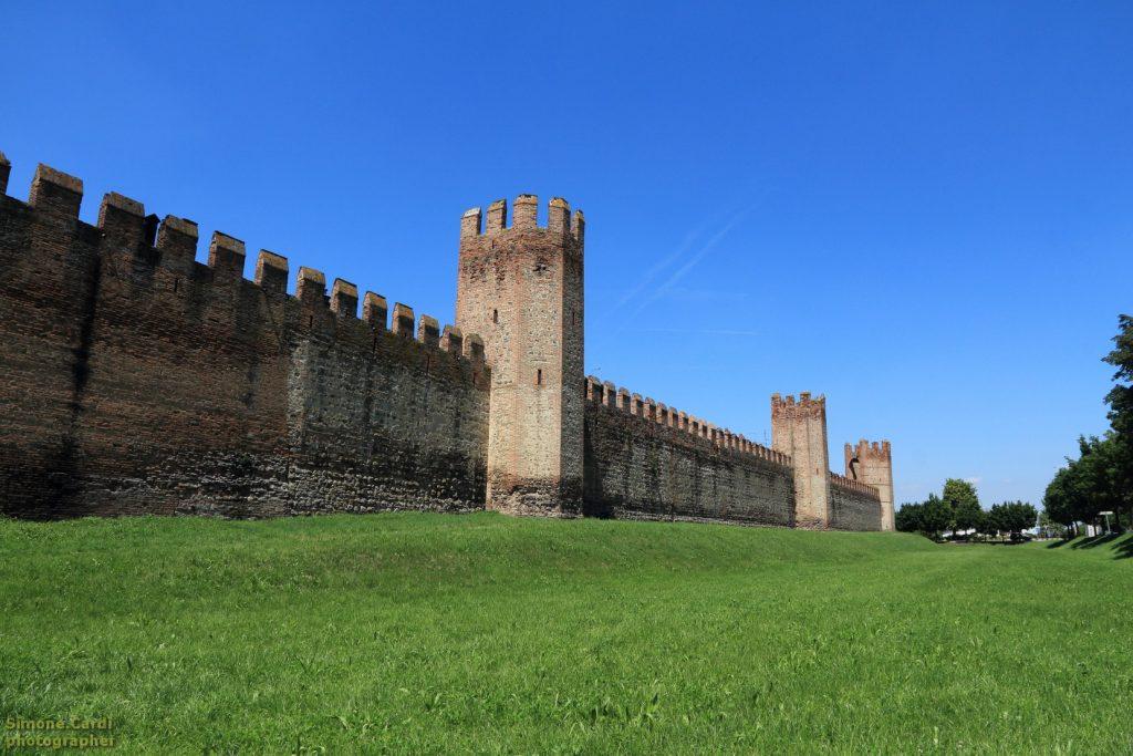 Montagnana nel Veneto città murata
