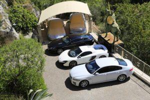 Chateau Eza - il parcheggio