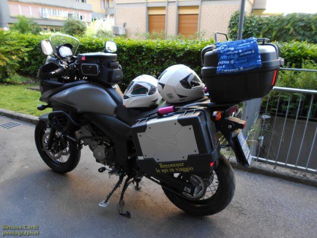 VStrom moto turismo Beeontour