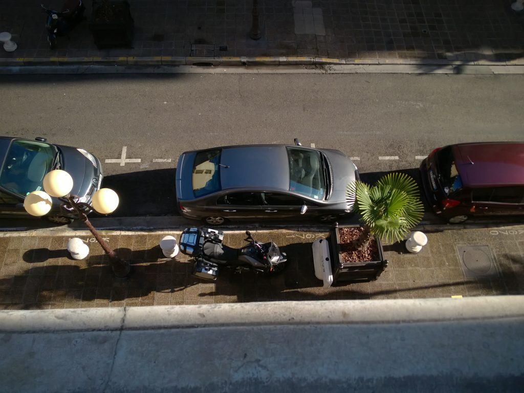 parcheggio moto nizza