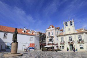 Cascais piazza del Municipio
