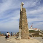 Cabo da Roca croce confine occidentale di Europa