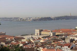 praça do comércio veduta panoramica