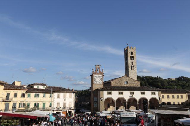 piazza Buondelmonti Impruneta Fiera di San Luca