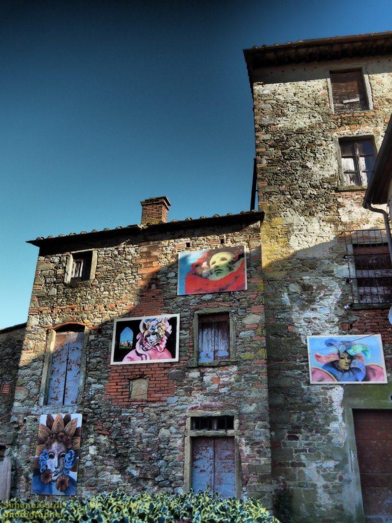 Castiglion Fibocchi Carnevale 2017 nel borgo
