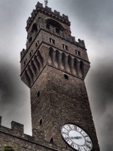 Firenze, Palazzo Vecchio - particolare della torre