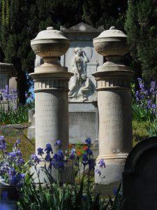 cimitero degli inglesi particolare tomba , Firenze