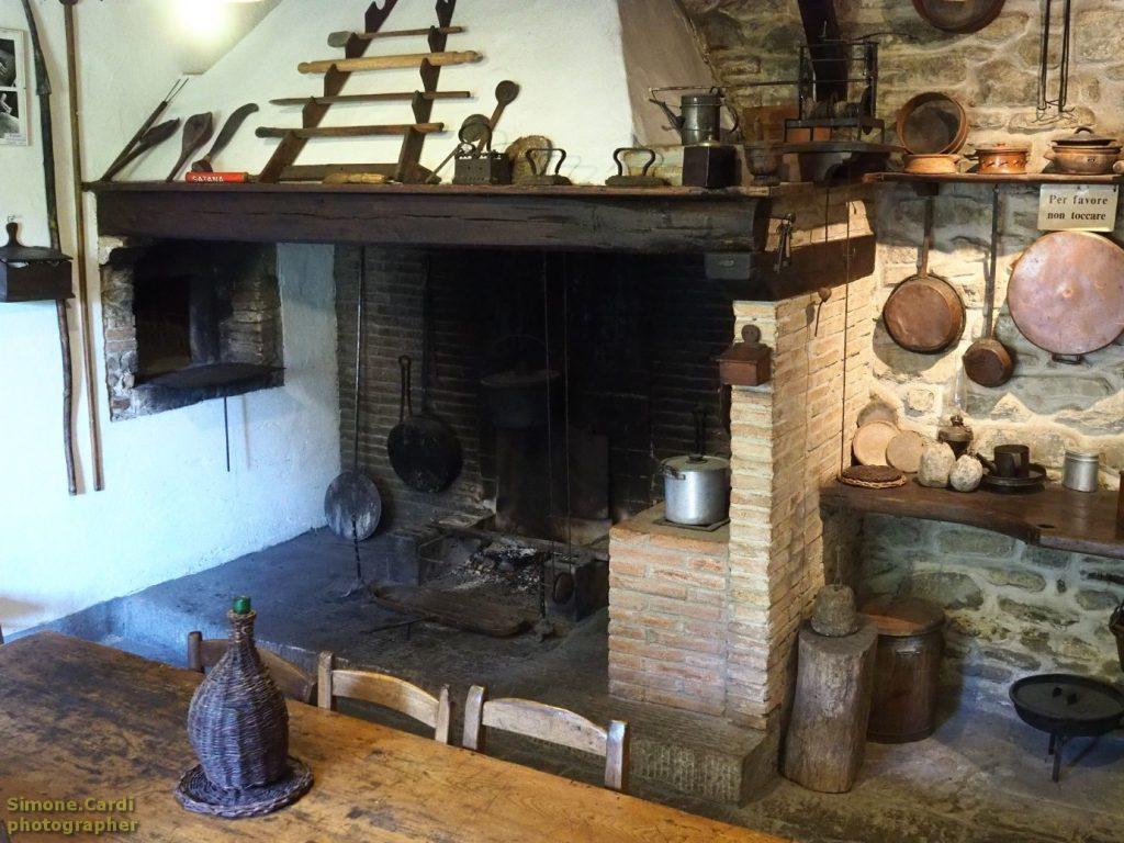 casa d'erci cucina contadina