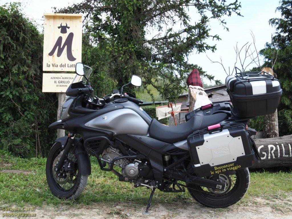Suzuki v-strom Mugello