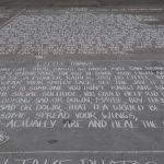 street art Trafalgar Square