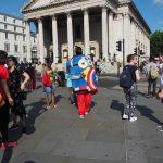 minion a Trafalgare Square
