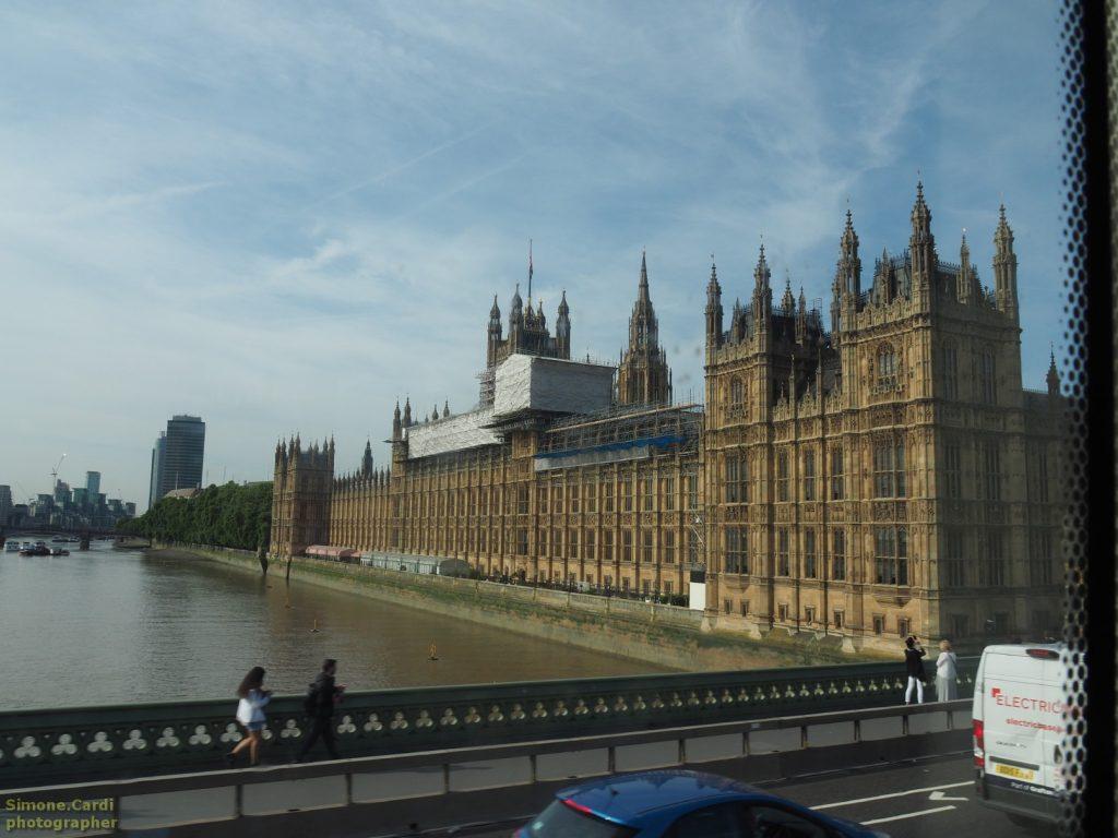 palazzo del parlamento di Londra