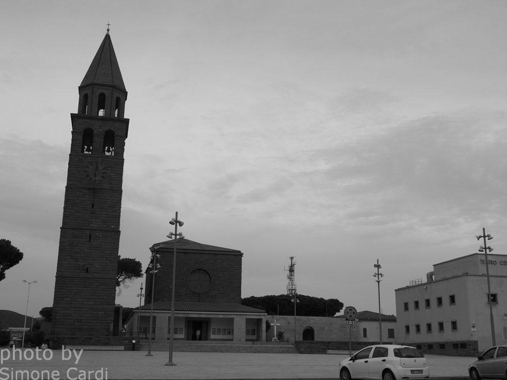 Carbonia Piazza Roma Chiesa di San Ponziano
