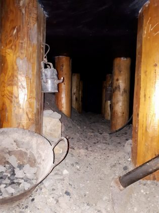 miniera serbariu galleria 80 cm