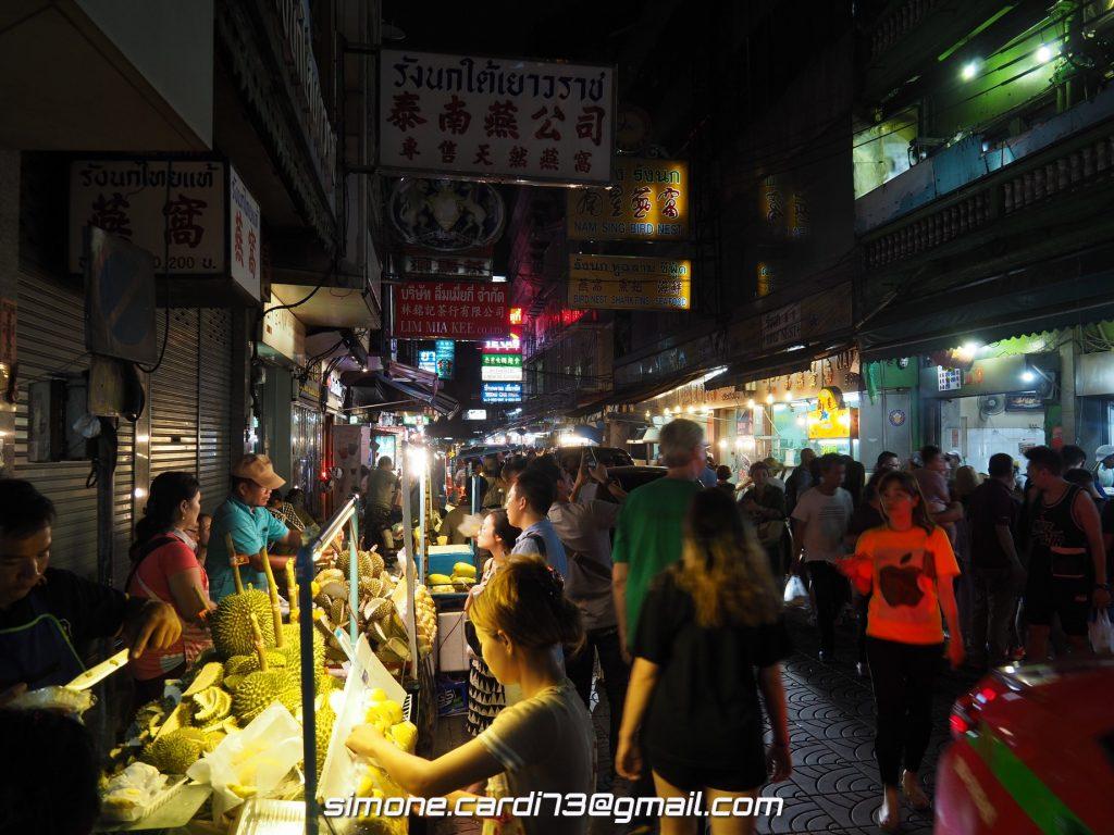 Bangkok - street food nel quartiere cinese