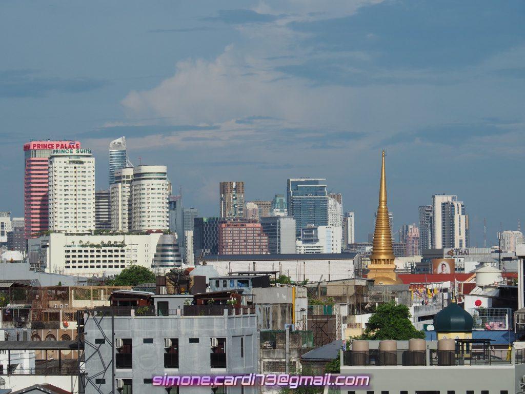 Bangkok - panoramica della città