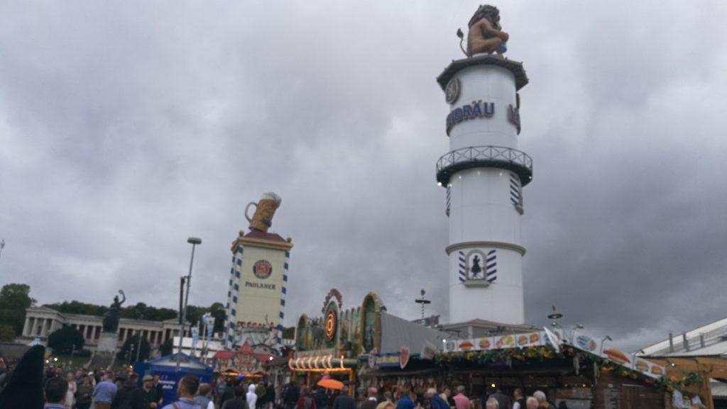 Oktoberfest stand