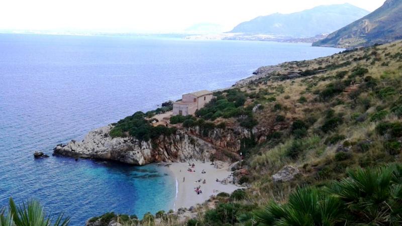 sicilia riserva zingaro panorama