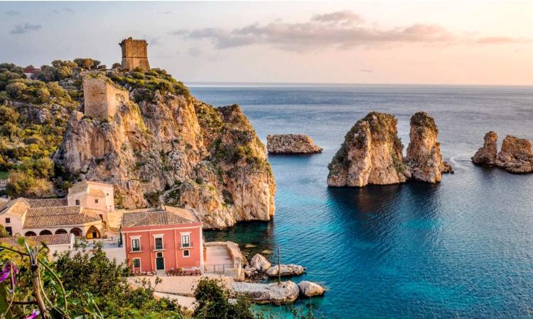 sicilia scopello paesaggio